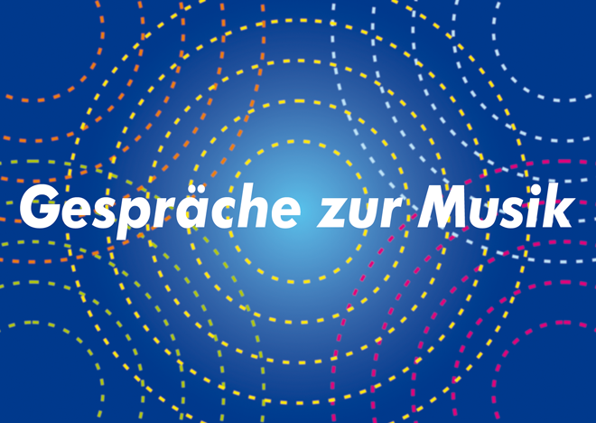 Postcard design for Gespräche zur Musik, Carlo Domeniconi concert series, September-December 2016