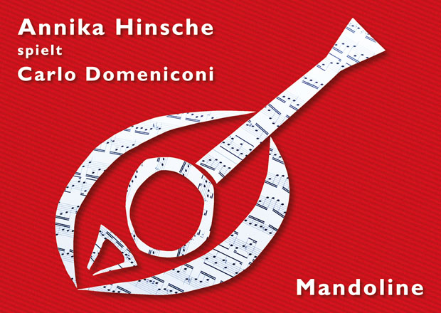 Postcard for a concert series by Carlo Domeniconi and Annika Hinsche