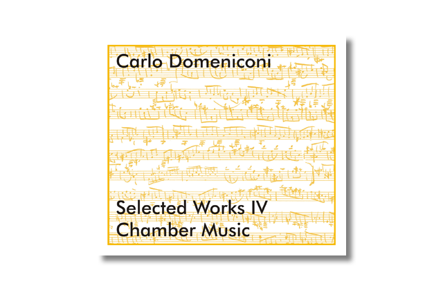 The music CD series Selected Works by Carlo Domeniconi