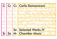 Carlo Domeniconi CD series Selected Works