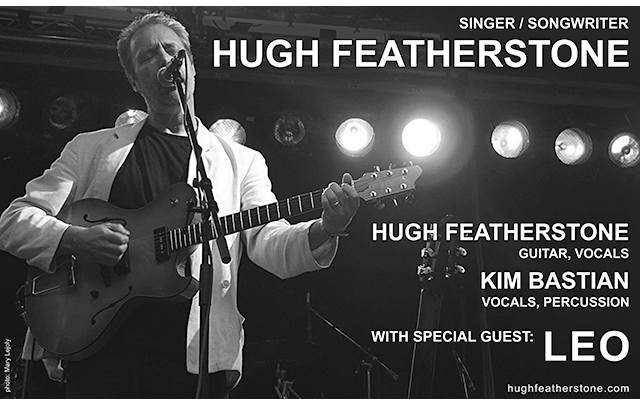 Hugh Featherstone, singer, songwriter, guitarrist